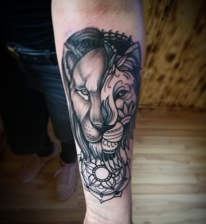 Mandala Tattoo Hilden